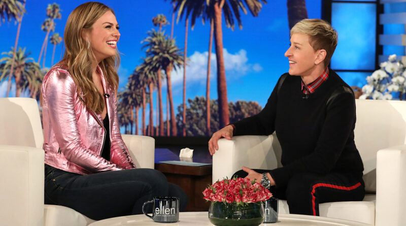 Hannah Brown Tells Ellen Exactly What She's Looking For In a Man