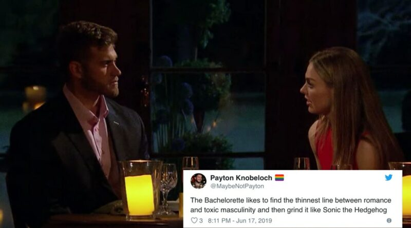 Twitter Reactions From Monday Night's Recap of The Bachelorette