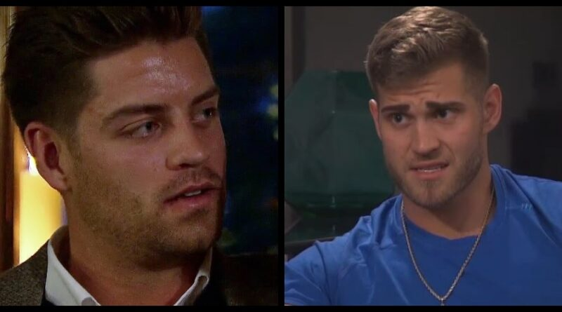 Watch Luke P Confront Garrett Over Being Naked With Hannah On The Bachelorette Sneak Peak