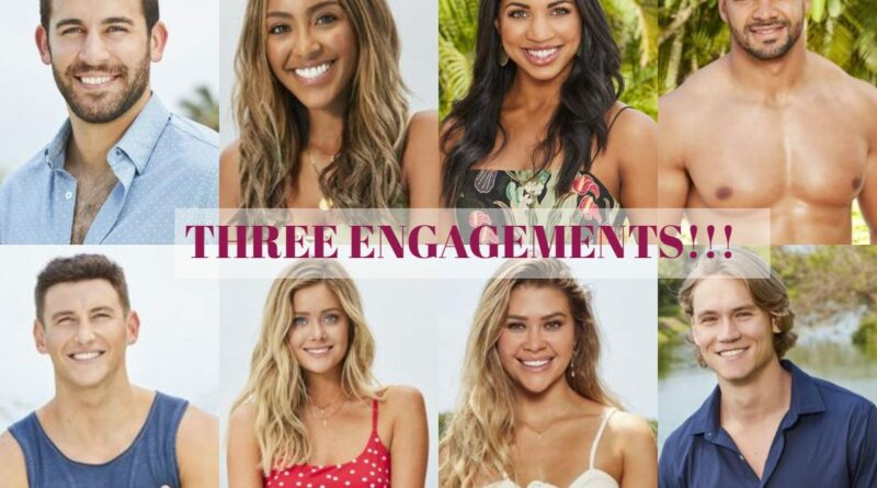 These Three Couples Got Engaged on Bachelor in Paradise Season 6 Finale