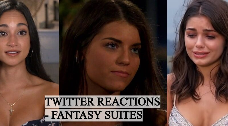 Hilarious Twitter Reactions From Fantasy Suites Episode of The Bachelor