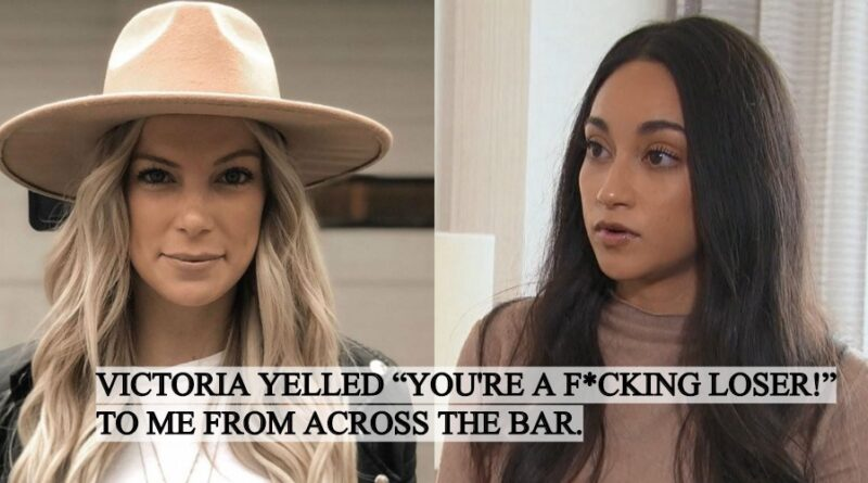 Peter's Ex Merissa Pence Talks Victoria Fuller Confrontation After The Bachelor