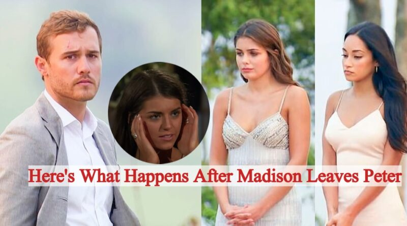 Here's What Happens After Madison Leaves Peter Next Week on The Bachelor